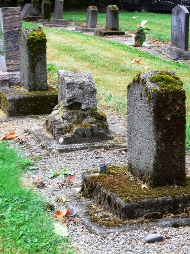 Japanese kanji-style stones